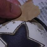 白の革靴修復プロジェクト(その2)アドカラーを使ってみた。