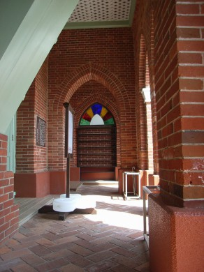 宝亀カトリック教会 (入り口)
