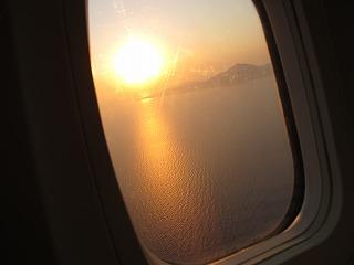 ギリシャ新婚旅行記 その2 アブダビ空港~サントリーニまで