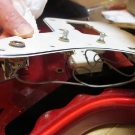 Jazz Masterのプチ改造(その2)
